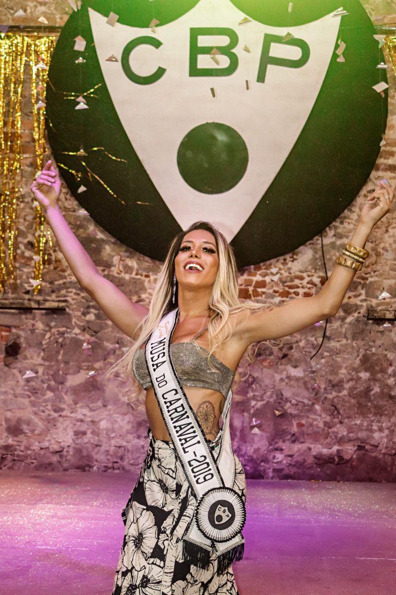Kamilla Carvalho, a Musa do Carnaval 2019 do Cordão da Bola Preta (Foto: Sérgio Baia)
