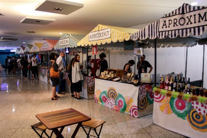 Pensar global e comer local na Feirinha Aproxima (Foto: Maykel Douglas)