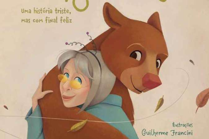 """O novo livro de Rita Lee """"Amiga ursa — uma história triste, mas com final feliz"""", da Globo Livro"""
